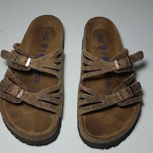 Birkenstock sandal brown size 36